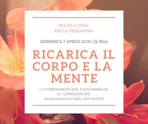 RICARICA IL CORPO E LA MENTE_CORPO&MENTE